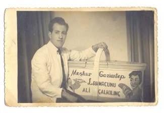 Gaziantep Lahmacunu (Mahreç İşareti)